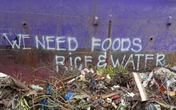 المتعلقات الناجية من إعصار هايان (بالصور)
