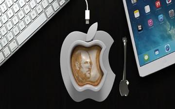 من إبداعات آبل أكواب قهوة ذكية