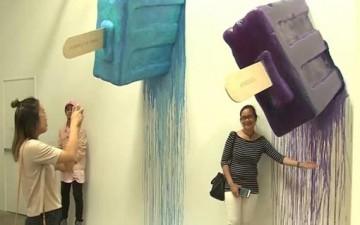 متحف للمثلجات يستقطب اهتمام الزوار