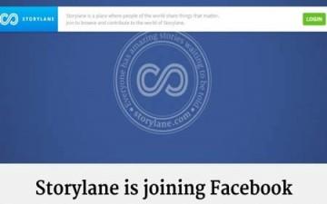 فيسبوك يستحوذ على فريق عمل شبكة Storylane الاجتماعية