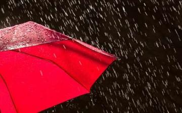 يوم ماطر