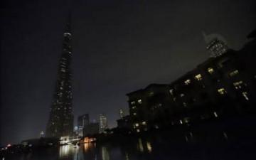 الإمارات في الظلام احتفاءً بـ «ساعة الأرض»