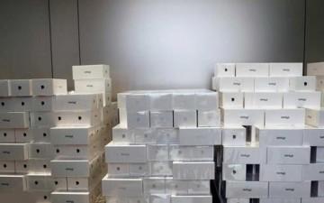 سرقة المئات من هواتف «آيفون X»