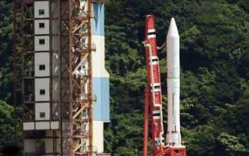 تجربة صاروخ يموّن محطة الفضاء الدولية