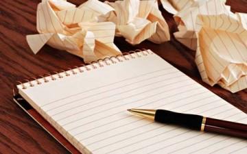 معاناة الكتابة